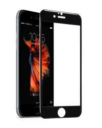 Tempered glass Hoco cu rama din ploicarbonat negru pentru iPhone 66s plus