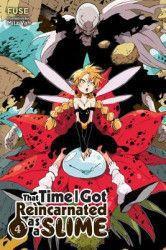 That Time I Got Reincarnated as a Slime Vol. 4 Light Novel Carti