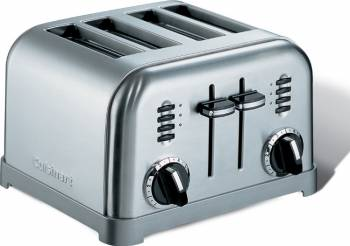 Prajitor de paine Cuisinart CPT160E 900 W 6 trepte Gri Prajitoare