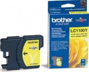 Cartus Brother LC1100Y Galben DCP6690CW DCP6490CW 325 pag Cartuse Originale