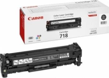 Toner Canon CRG-718 Negru LBP-7200CDN 3400 pag Cartuse Originale