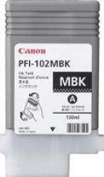 Cartus Canon PFI-102 Negru Mat IPF500 600 700 Cartuse Originale