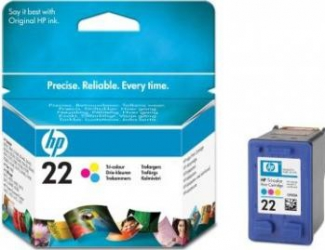 Cartus HP 22 Tri-colour Inkjet Print Cartridge Cartuse Originale