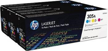 Toner HP 305A Laserjet Tri-Pack CYM Cartuse Originale