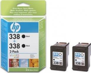 Cartus HP 338 Negru 2-pack Deskjet 460c Cartuse Originale