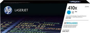 Toner HP 410X Cyan 5000 pag LaserJet Pro M452 MFP M477 Cartuse Originale