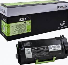 Toner Lexmark 52D2X0R 45000 pag Negru Refurbished