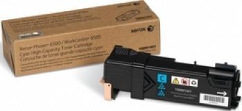 Toner Xerox Phaser 6500 6505 Cyan 2500 pag Cartuse Originale