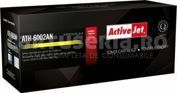 Toner ActiveJet compatibil HP Q6002A Galben 2000 pag Cartuse Compatibile