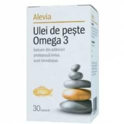 Ulei de Peste Omega 3 Alevia 30cps