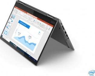 Ultrabook 2in1 Lenovo ThinkPad X1 Yoga G5 Intel Core (10th Gen) i5-10210U 256GB SSD 16GB FullHD Touch FPR Tast. ilum. Win10 Pro Laptop laptopuri