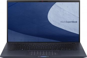 Ultrabook ASUS ExpertBook B9 14 Intel Core (10th Gen) i7-10510U 1TB SSD 16GB FullHD Win10 Pro Tast. ilum. FPR Star Black Laptop laptopuri