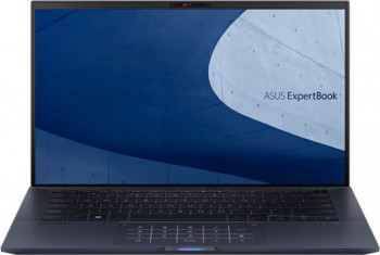 Ultrabook ASUS ExpertBook B9 14 Intel Core (10th Gen) i7-10510U 512GB SSD 16GB FullHD Tast. ilum. FPR Star Black Laptop laptopuri