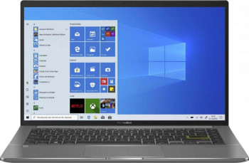 UltraBook ASUS VivoBook 14 S435EA Intel Core 11th Gen i7-1165G7 1TB SSD 16GB Iris Xe FullHD Win10 Pro Tast. ilum. FPR Deep Green Laptop laptopuri