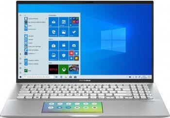 Ultrabook ASUS VivoBook S15 Intel Core (8th Gen) i7-8565U 512GB SSD 16GB FullHD Win10 Pro ScreenPad Tast. ilum. Silver