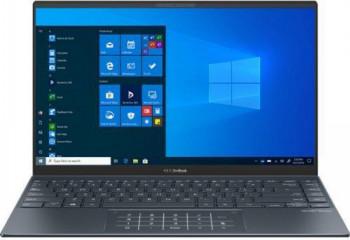 UltraBook ASUS ZenBook 14 UM425UA AMD Ryzen 5 5500U 512GB SSD 8GB AMD Radeon R5 FullHD Win10 Tast. ilum. Pine Grey Laptop laptopuri