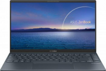 Ultrabook ASUS ZenBook 14 UX425EA Intel Core (11th Gen) i5-1135G7 1TB SSD 8GB Intel Iris Xe FullHD Tast. ilum. Pine Grey Laptop laptopuri
