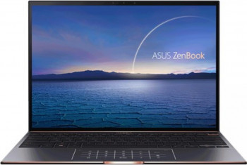 UltraBook ASUS ZenBook S UX393EA Intel Core (11th Gen) i5-1135G7 1TB SSD 16GB Intel Xe 3.3K Touch Win10 Pro Tast. ilum. Jade Black Laptop laptopuri