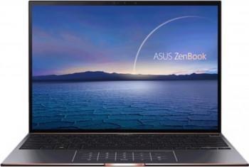 UltraBook ASUS ZenBook S UX393EA Intel Core (11th Gen) i5-1135G7 1TB SSD 16GB Intel Xe 3.3K Touch Win10 Pro Tast. ilum. Jade Black