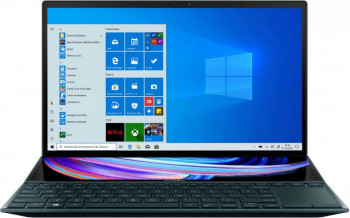 UltraBook ASUS ZenBook 14 UX482EG Intel Core (11th Gen) i7-1165G7 1TB SSD 16GB MX450 2GB FullHD Touch Win10 Pro Tast. ilum. Celestial Blue