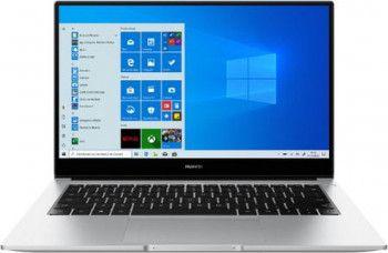 Ultrabook Huawei MateBook D14 2020 AMD Ryzen 7 3700U 512GB SSD 8GB AMD Radeon RX Vega 10 FullHD Win10 FPR Silver Laptop laptopuri