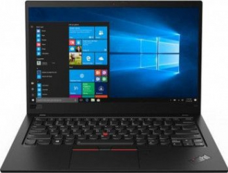 Ultrabook Lenovo ThinkPad X1 Carbon 7th Gen Intel Core (8th Gen) i5-8265U 256GB SSD 8GB Win10 Pro FullHD Tast. ilum. FPR Black Laptop laptopuri
