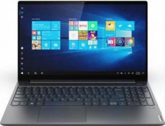 Ultrabook Lenovo Yoga S740-15IRH Intel Core (9th Gen) i9-9880H 1TB SSD 16GB Nvidia GeForce GTX 1650 4GB FullHD IPS Win10 Tast. il. Iron Grey