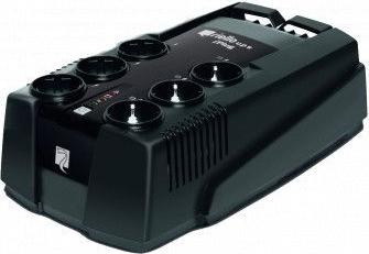 Ups Offline VFD GENIO iPlug 800VA 480W prize Schuko si IEC Stabilizatoare de tensiune