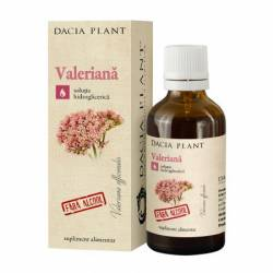 Valeriana fara Alcool Dacia Plant 50ml