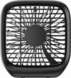 Ventilator Auto Baseus Pliabil cu prindere la tetiera Black Ventilatoare