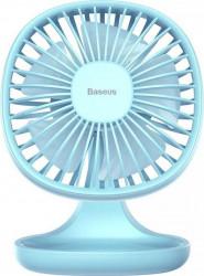 Ventilator Baseus Pudding Shaped Fan USB 5V 1A Blue Ventilatoare