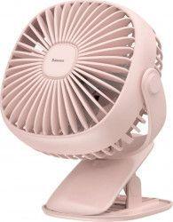 Ventilator Birou Wireless Baseus 3.5W USB 360 Pink Ventilatoare