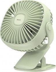 Ventilator Birou Wireless Baseus 3.5W USB 360 Tea Green Ventilatoare