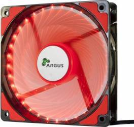 Ventilator Carcasa Inter-Tech Argus L-12025 120mm Red LED Ventilatoare Carcasa