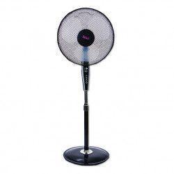 Ventilator cu picior Zilan ZLN-7703 Putere 50 W Diametru 40 cm 3 trepte de viteza Timer 60 min Negru