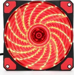 Ventilator Gembird FAN-HURACAN-100R 120mm Red
