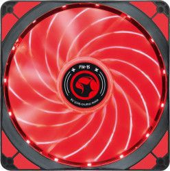Ventilator Marvo FN-15 140 mm LED Red Ventilatoare Carcasa