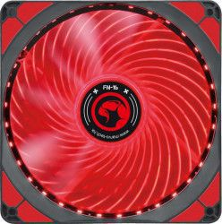 Ventilator Marvo FN-16 140 mm LED Red Ventilatoare Carcasa