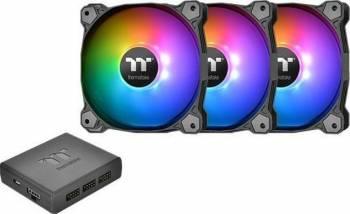 Ventilator Thermaltake Pure Plus RGB 12 Radiator Fan 3 Pack