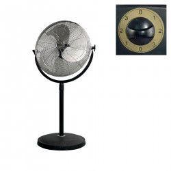 Ventilator cu stativ metalic 45 cm 100W palete din metal reglabil
