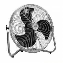 Ventilator de podea putere 100W 3 viteze argintiu