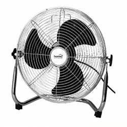 Ventilator podea putere 60W 3 viteze grilaj protectie argintiu