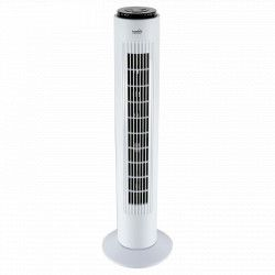 Ventilator tip stalp alb 74 cm 50W cu telecomanda TWFR 74