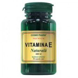Vitamina E Naturala 400UI 30cps Cosmo Pharm