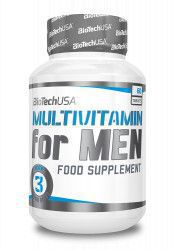Vitamine Multivitamin for Men BioTech USA 60 tablete Vitamine si Suplimente nutritive