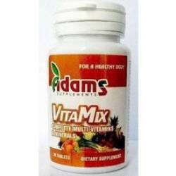 VitaMix Multuivitamine si Minerale Adams Vision 30tbl