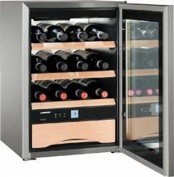 Vitrina frigorifica pentru vinuri Liebherr WKES 653 38L Clasa E Inox