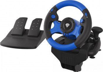 Volan gaming NATEC Genesis Seaborg 350 (PC-PS4-PS3-Nintendo Switch-Xbox One-Xbox 360)