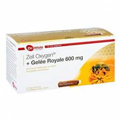Zell Oxygen cu Gelee Royale 600mg 14fiole Dr. Wolz