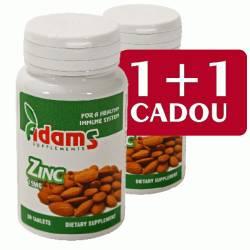 Zinc 15mg Adams Vision 30+30cpr